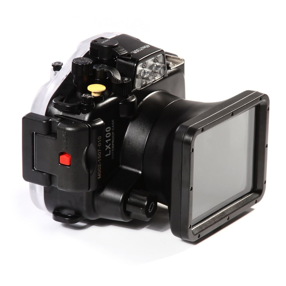 Meikon LX100 40m 130ft Waterproof Underwater Housing Camera Diving Case Cover for Panasonic DMC-LX100 24-75mm