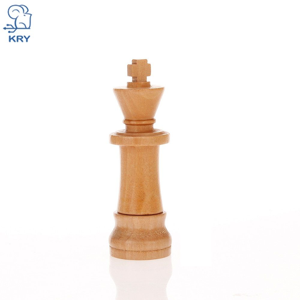 KRY usb3.0 wooden chess U disk 4GB 8GB 16GB 32GB 64GB 128GB chess memory stick USB2.0 flash memory external storage holiday gift