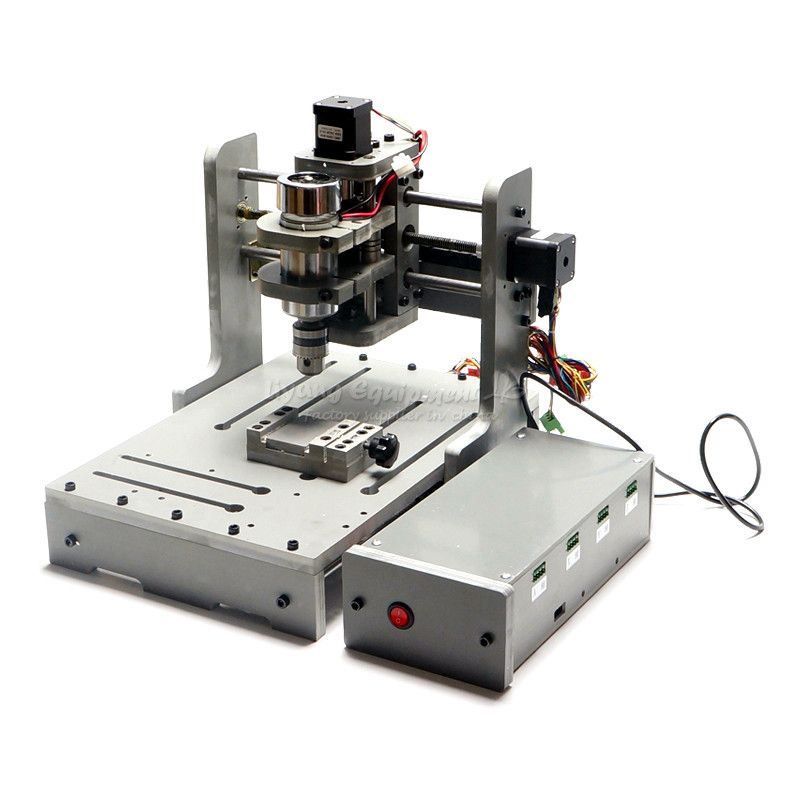 3 Axis 110V/220V CNC Milling Machine With 300W Spindle PCB Drilling Machine for Woodworking
