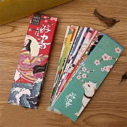 30pcs/lot Cute Kawaii Paper Bookmark Vintage Japanese Style Book Marks For Kids School Materials Student 2904