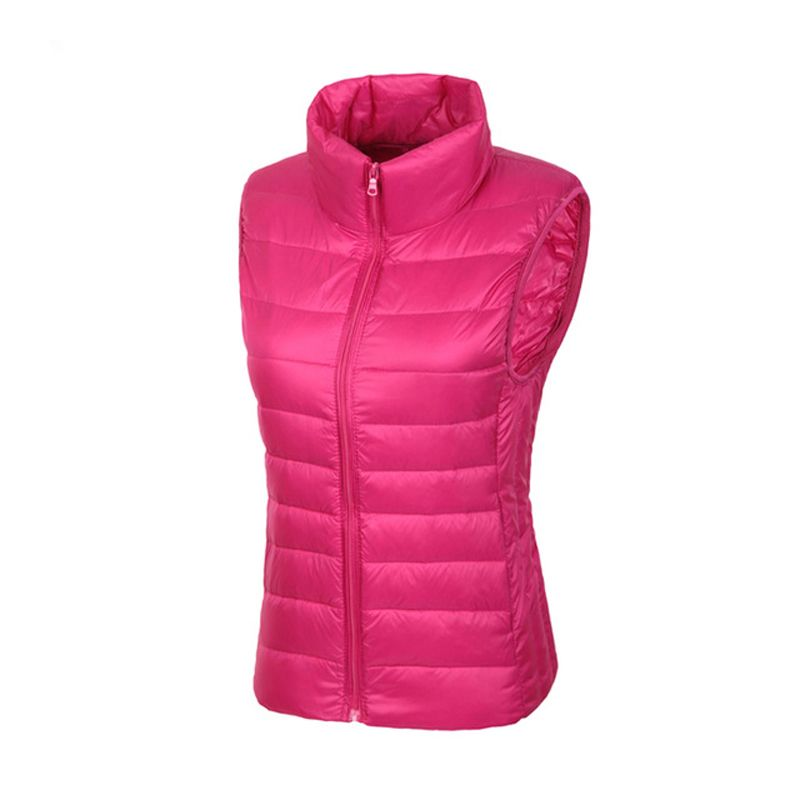Winter Jacket Women Vest 100% White Duck Down Vest 2015 Winter Vest Women Sexy <font><b>Lovers</b></font> Slim Short Jackets Parka Plus XXXL