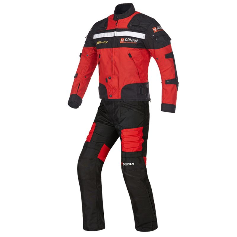 Motorcycle Windproof Warm Winter jacket Oxford Fabric Jackets Motocross Suits Motorbike Racing Portection Protective clothing