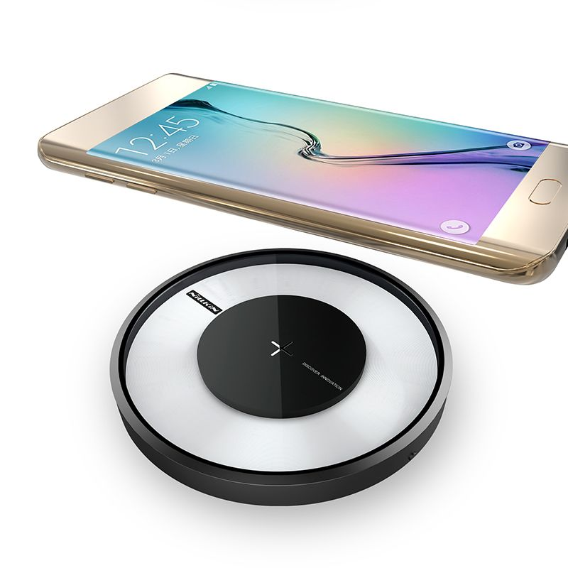 NILLKIN Magic disk 4 fast charger for samsung S9 S8 S8 Plus Qi Fast Wireless Charging Pad for Galaxy S7/S7Edge/Note 5/Note 8