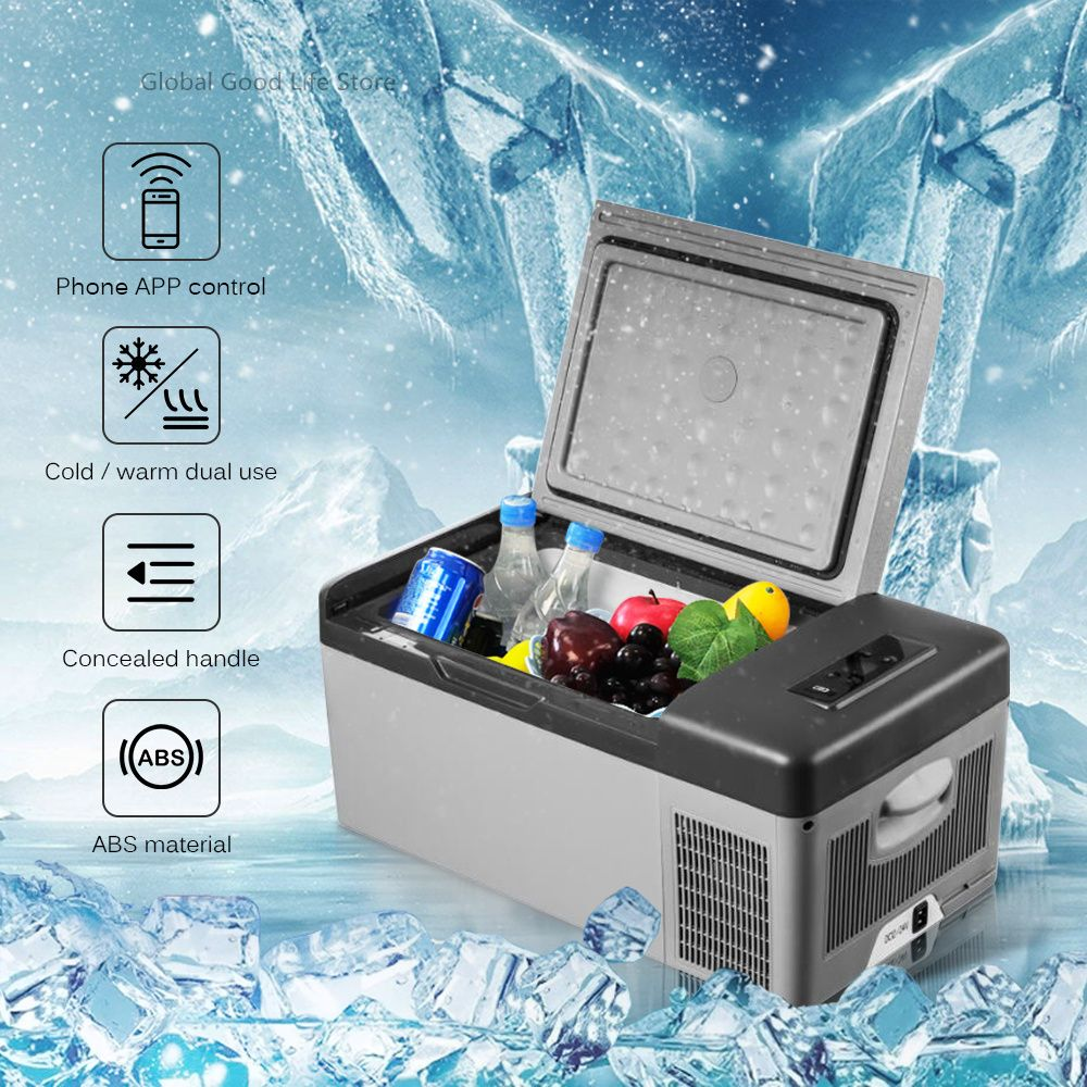 Alpicool Tragbare APP Conrtol Mini Kompressor Kühlschränke 15L Tragbare Mini Tragbare Auto Kühlschrank Kalt/Warm Dual Verwenden DC12V/ 24V