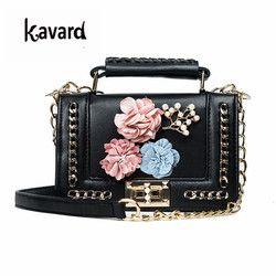 Kavard Mini Perle sac de plage sacs à main femmes célèbre marque de luxe sac à main femmes sac designer sac À Bandoulière pour les femmes 2017 sac à main