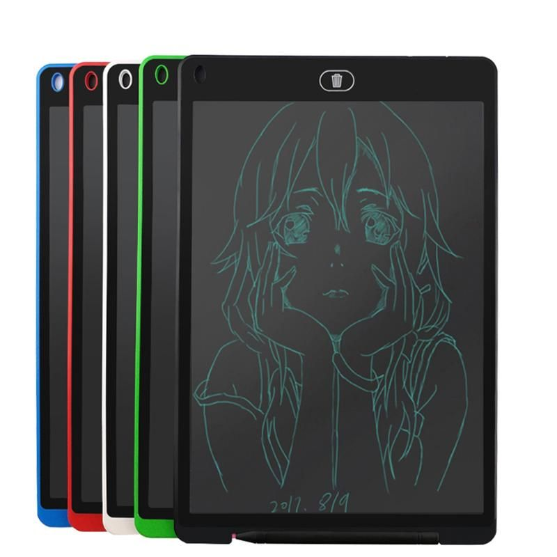 ALLOYSEED 12 inch LCD Writing <font><b>Tablet</b></font> Digital Drawing <font><b>Tablet</b></font> Handwriting Pads Portable Electronic <font><b>Tablet</b></font> Board for Kids Drawing