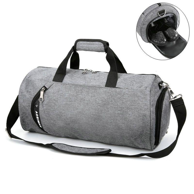 Bolsa de deporte para las mujeres hangbag bolsa de lona de los hombres de entrenamiento de fútbol de fitness danza yoga bolsas de viaje de gran capacidad solo bolso de hombro