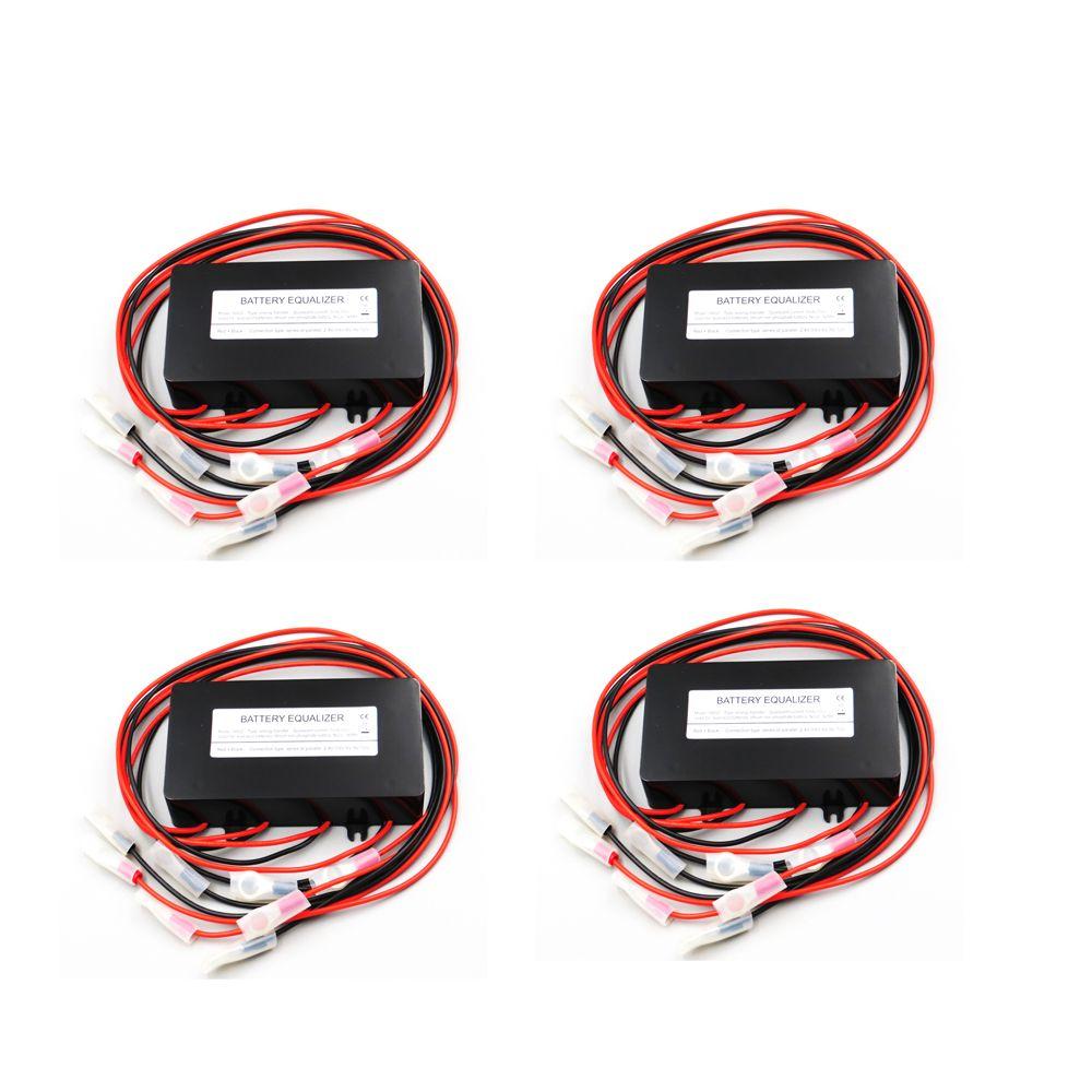 4 stücke x 12 v 24 v 36 v 48 v Batterie equalizer HA02 verwendet für blei-säure batteris balancer ladegerät controller solar