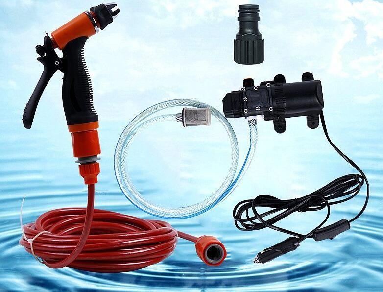 High Pressure Self-priming Electric Car Wash Washer Water Pump 12V Car Washer Washing Machine Cigarette Lighter