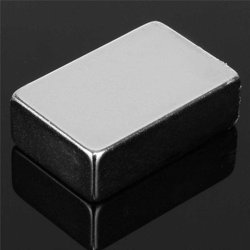 Neue 2 stücke 30x20x10mm Quadratischen Block Starke Quader Rare Earth Neodym Magneten N50 Permanentmagnet sehr Leistungsstarke