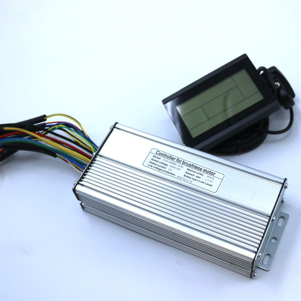 800W-1000W 35Amax 48V Brushless DC Motor Controller Ebike Controller +KT-LCD3 Display One Set