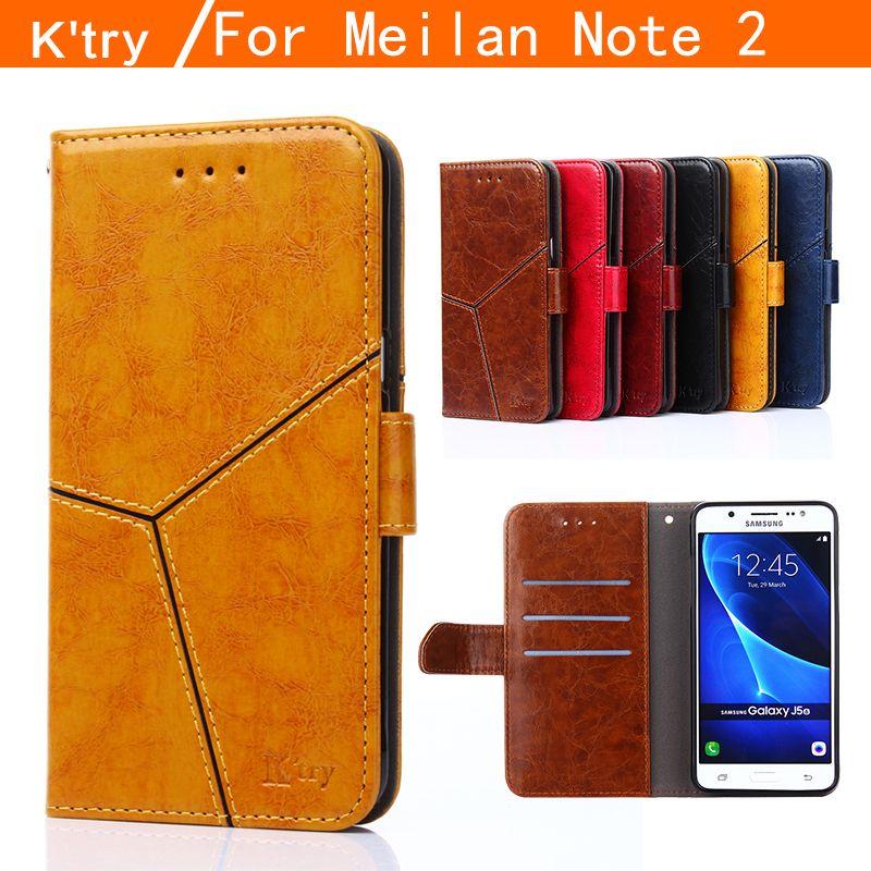 K'try MEIZU M2 Note cas, haute Qualité Portefeuille style Flip étui En Cuir Pour MEIZU M2 Note/Meilan Note 2 Note2 cas de téléphone couverture