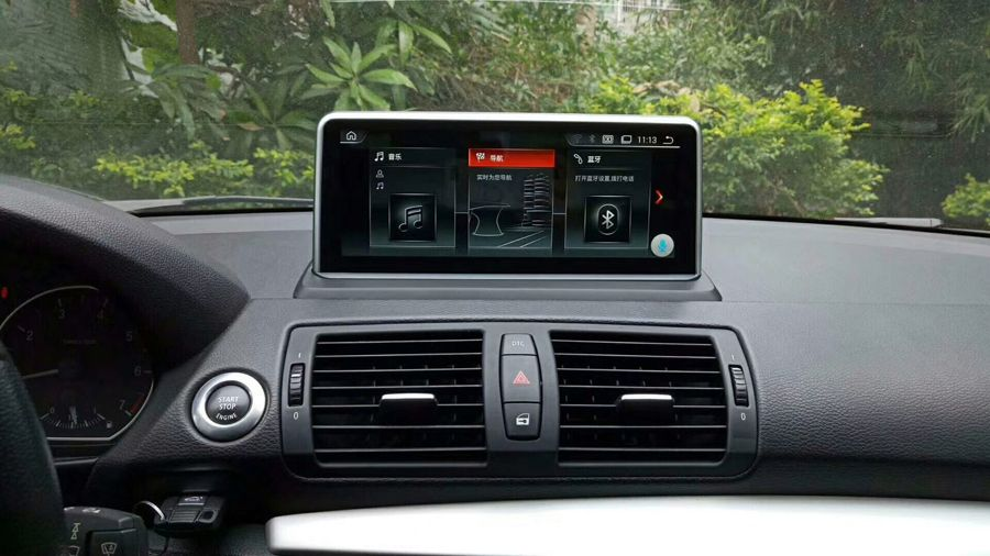 Luxus Anti-reflexion Bildschirm Auto android 9.0 Für BMW E87 2005-2012 Bluetooth Navigation auto gps 1080P carplay multimedia