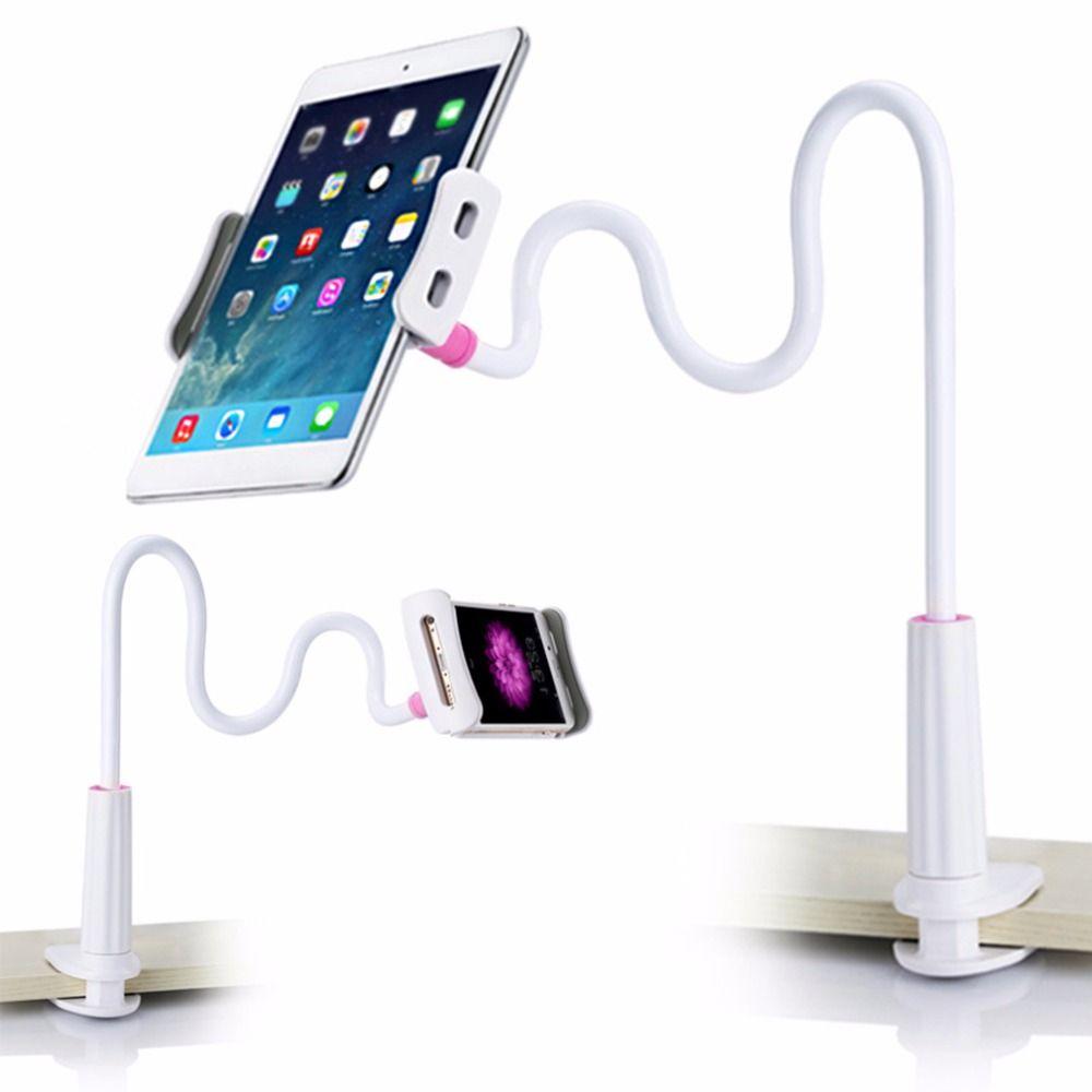 2017 neue Leichte Tablet Faul 360 Grad Flexible Arm Tisch Handy-halter-standplatz-desktop Tabelle Tablet Unterstützung Halterung Für Ipad