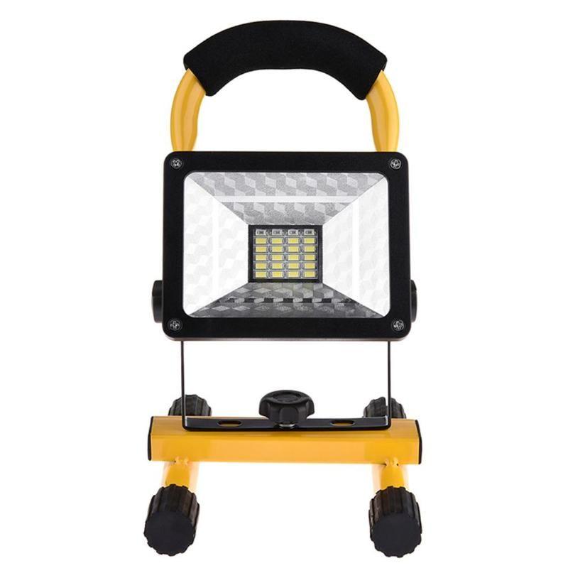 24LEDs Handheld Flood Light 3Modes Camping Light IP65 Waterproof Spotlight Outdoor Camping Indoor Emergency Working Lights Lamps