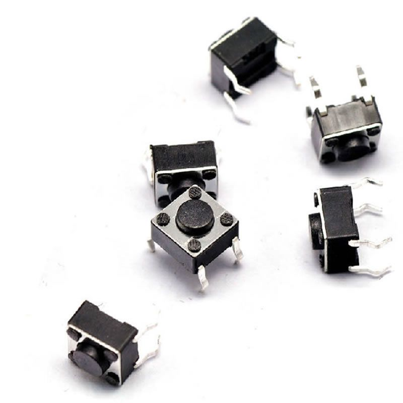 Free shipping 30pcs 6*6*4.3mm for Tact Switch Push Button Tactile Pushbutton LCD Screen Monitor