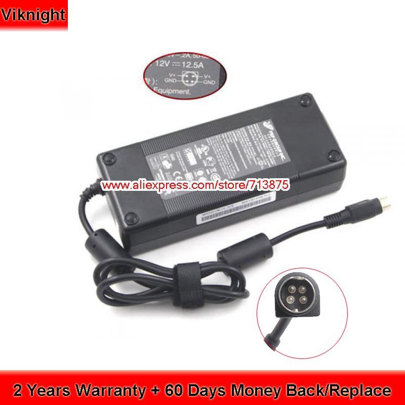 Echtes FSP150-AHAN1 12 V 12.5A AC Adapter Für QNAP TS-409 TS-412 Turbo NAS Dynamische Touch Monitor FSP135-AHAN1 DPS-150NB-1 B