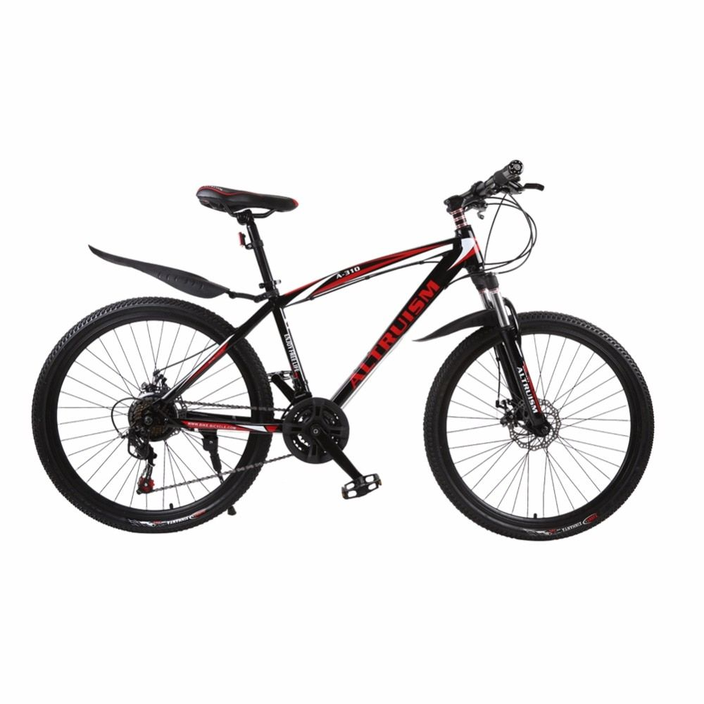 Altruism A-310 21 Speed Men Women Mountain Bike 26 Inch Aluminum MTB Bicycle Brand Bicicleta Mechanical Disc Brakes Cycling Bike