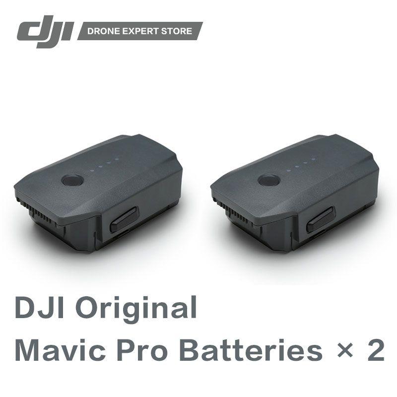 2pcs/set Original DJI Mavic Pro Flight Battery 11.4V Intelligent Drone Batteries