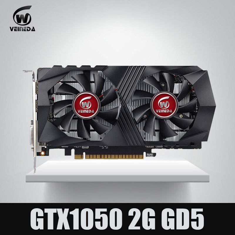 Video Karte GTX1050 GPU Grafikkarte 2g DDR5 Gaming Bergbau Karte Instantkill GTX950, GTX750, GTX650 Für nvidia Geforce Gtx spiele