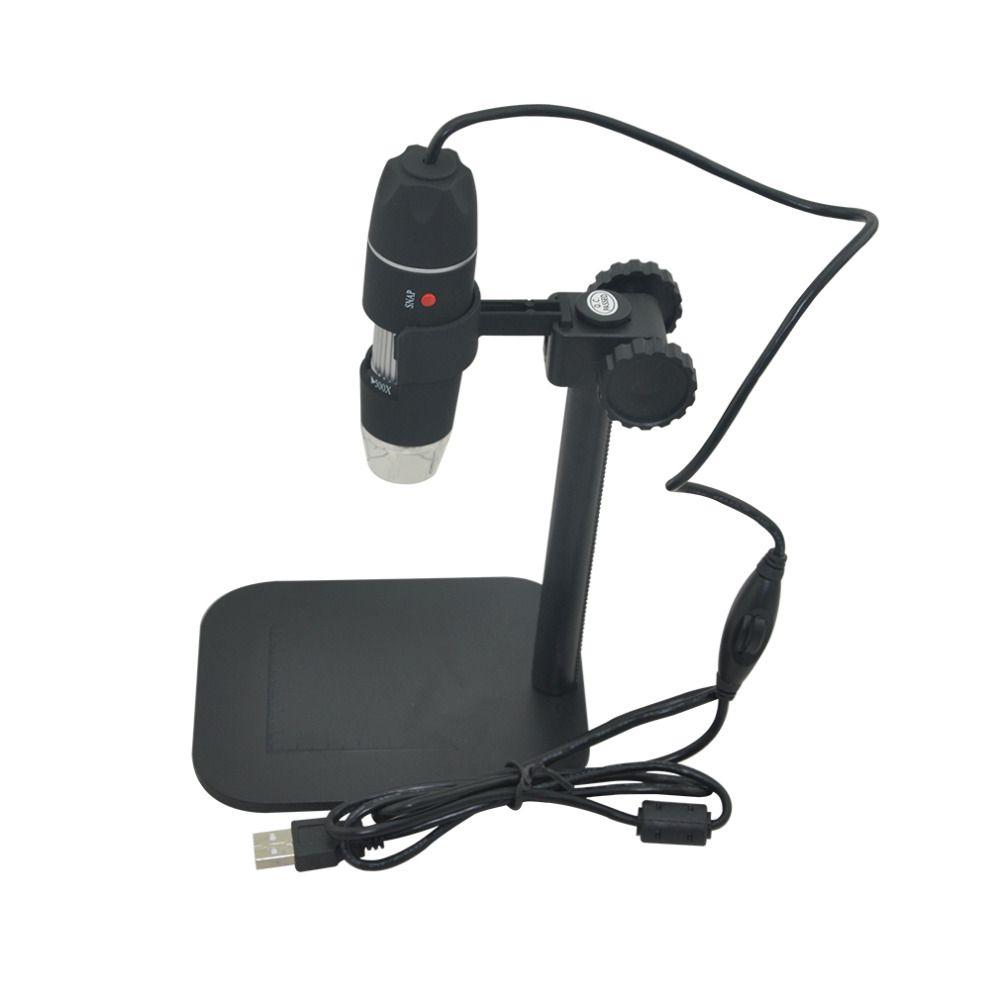 usb digital microscope camera led electronic electron Endoscope 500X glasses magnifier Magnifying Glasses Desk Loupe Black New