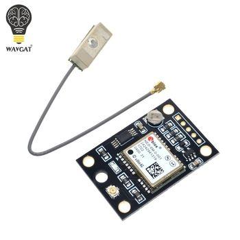 WAVGAT GY-NEO6MV2 Nouveau NEO-6M Module GPS NEO6MV2 avec Flight Control EEPROM MWC APM2.5 Grande Antenne pour arduino