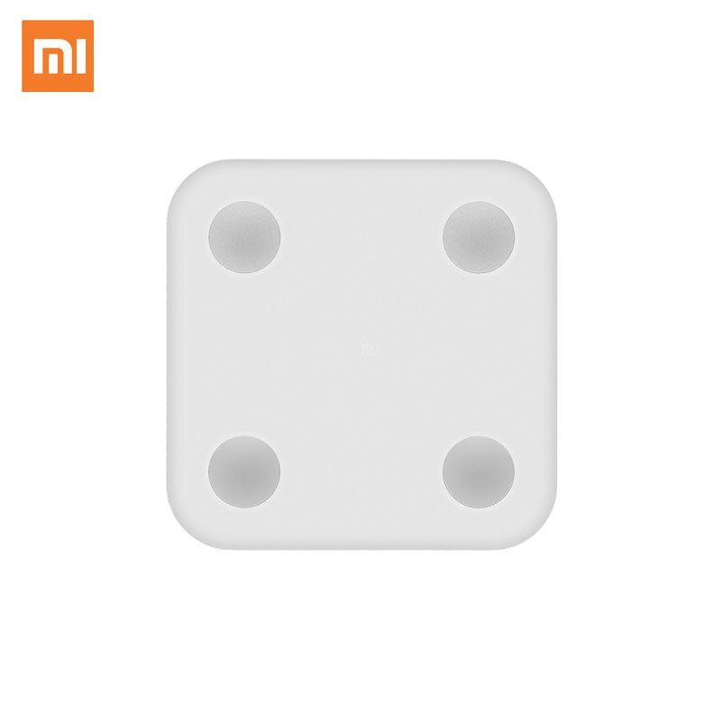 Original Xiaomi mi Smart Scale 2 Mijia Body Scale Composition Bluetooth 4.0 LED Display BMI BMR Visceral Fat Test Support APP