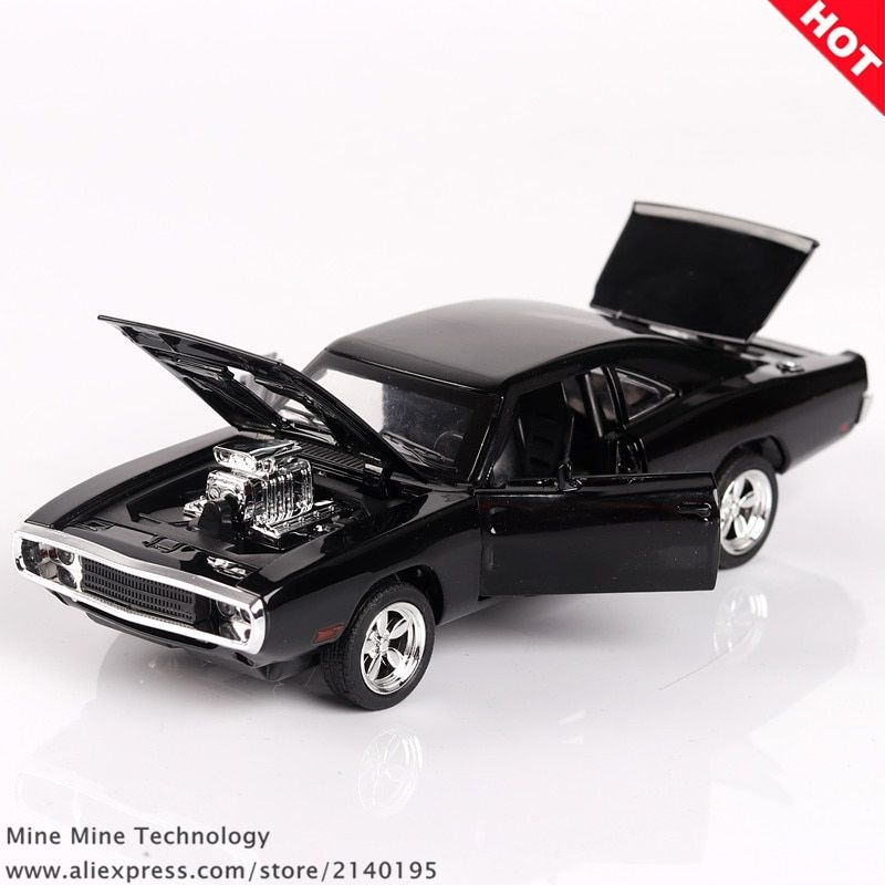 MINI AUTO 1:32 Dodge Charger The <font><b>Fast</b></font> And The Furious Free Shipping Alloy Car Models kids toys for children Classic Metal Cars