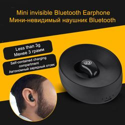 With 500mAh Charging Box S600 Ultra Mini Wireless Bluetooth Headsets V4.1+EDR Universal Sports Earphone For Phones PC PK S530
