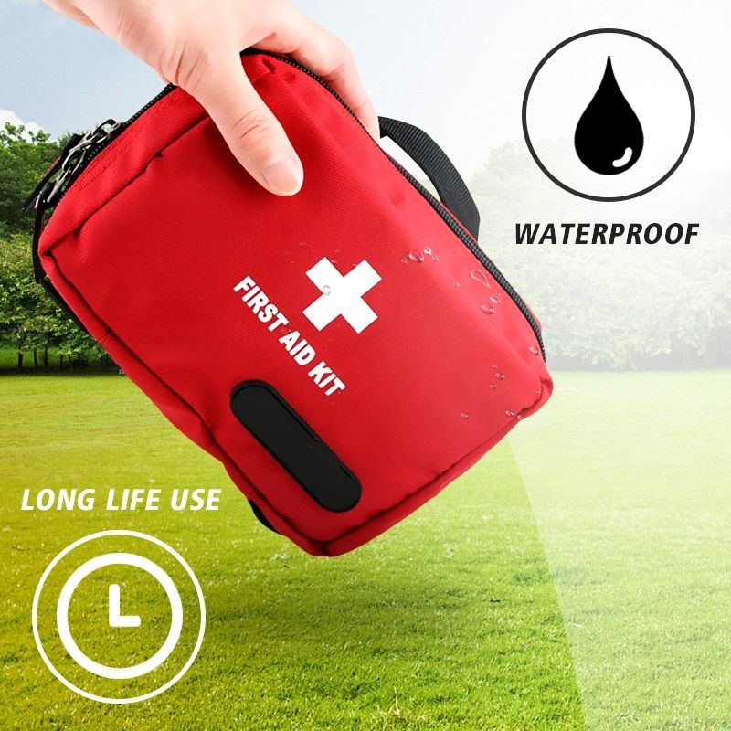 Safurance Outdoor Tactical Emergency Medical First Aid Pouch Bags Survival Pack Rescue Kit Empty Bag Treatment Pack