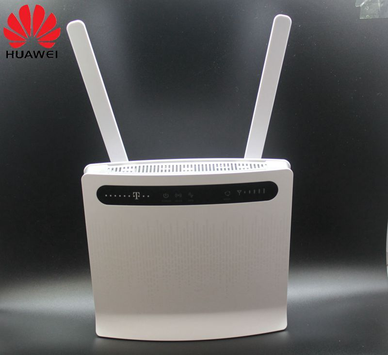 Unlocked Huawei B593 B593s-12 4G LTE Router 4G Router(plus antenna) with Sim CardSlot 4G LTE WiFi Router with 4 Lan Port PKB310