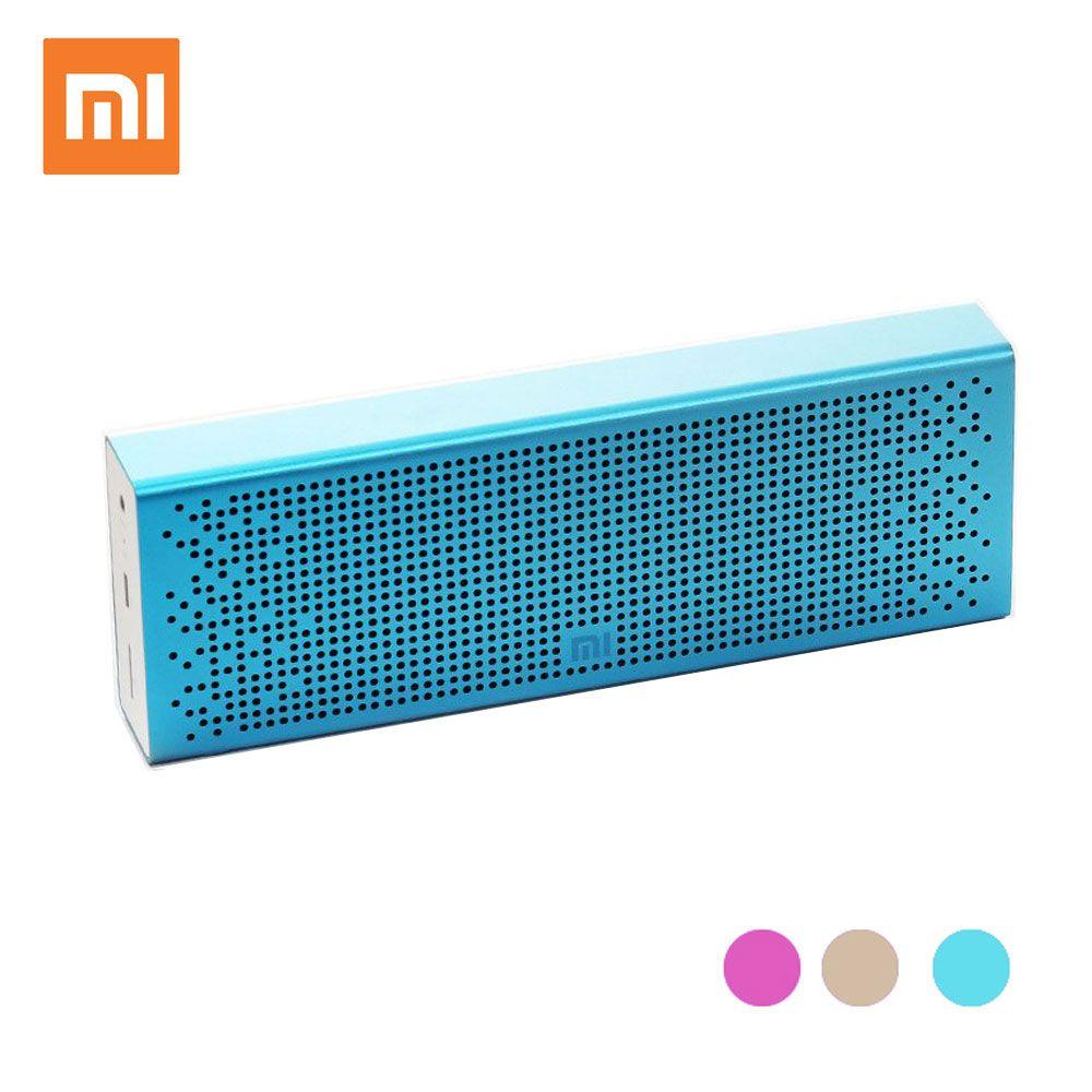 XIAOMI Mi Mini Portable Wireless USB Bluetooth Speaker Column Loudspeaker Vibrating Speakers Music Bluetooth Player Receiver