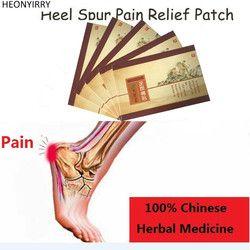 7 Buah Tumit Memacu Patch Nyeri Herbal Calcaneal Spur Cepat Heel Pain Relief Patch Kaki Perawatan Plester