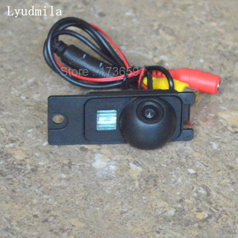 Lyudmila For Volvo S60 S60L 2001~2009 / Car Rear View Reverse Camera Backup Parking Camera HD CCD / License Plate Light Install