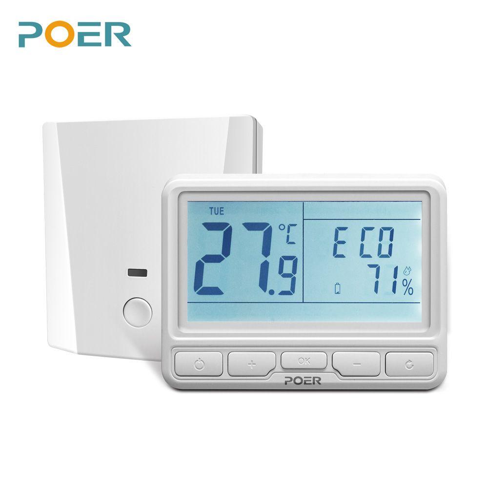 Contrôleur de pièce sans fil Thermostat wifi numérique maison contrôleur de chauffage par le sol électrique hebdomadaire Programmable pour le courant 16A