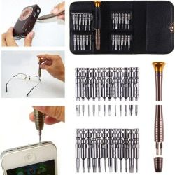 25 In 1 Magnetic Torx Screwdriver Set Mobile Phone Repair Tool Kit Hand Tools For Iphone IPad Watch Tablet PC Mobile Phone Tools