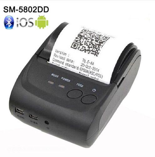 Zjiang ZJ-5802LD мини Портативный Перезаряжаемые Android Bluetooth 58 мм Термальность получения принтер для ресторана супермаркет