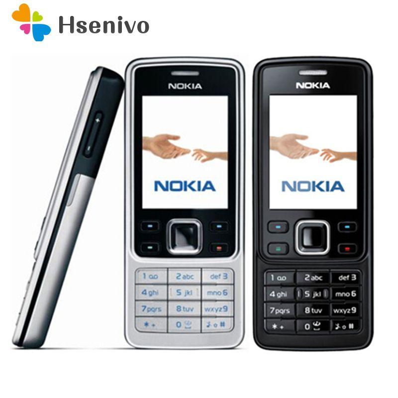 6300 D'origine Nokia 6300 Téléphone portable Débloqué 6300 téléphone portable et Russe Clavier Anglais Arabe rénové livraison gratuite
