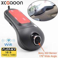 XCGaoon Wi Fi автомобильный dvr регистратор цифровой видео регистраторы видеокамера тире камера 1080 P Ночь Версия Novatek 96655 поворот 60 градусов