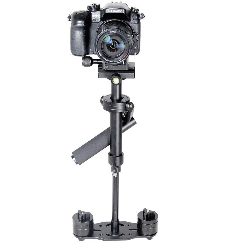 Professional S40N DSLR Aluminum Camera Tripod Handheld Mini Stablizer For Canon Nikon GoPro Camcorder Steadycam Video Steadicam