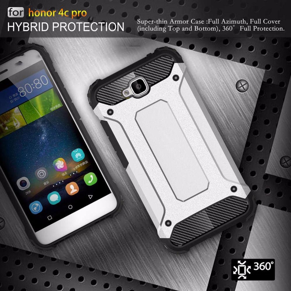 Luxus Hybrid Rüstung Telefonkasten Für Huawei Y6 Pro Y6pro 5,0