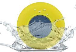 Portable Waterproof Mini altavoz Bluetooth Subwoofer Speaker suction cups Car Speakers For Handsfree Mic Speaker iPhone BTS-06