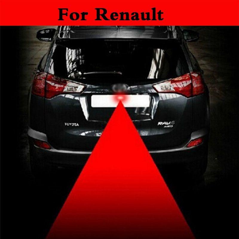 12 В анти столкновения Автомобиля Лазерный Хвост красный автоматический стояночный тормоз лампа для renault Captur Clio RS Clio V6 duster fluence kadjar Koleos