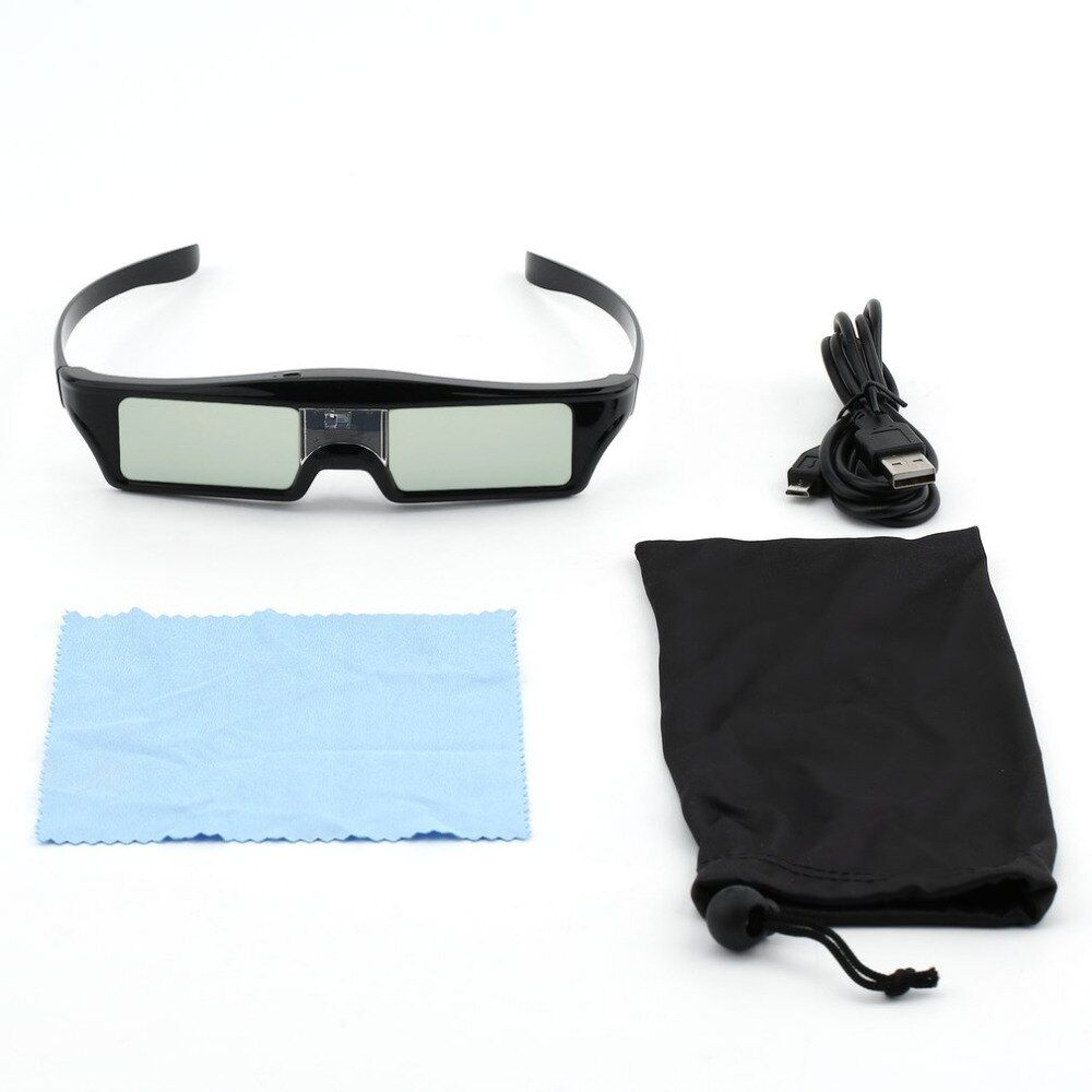 2017 New 3D IR Active Shutter Glasses For BenQ W1070 W700 W710ST DLP-Link Projector Hot Promotion