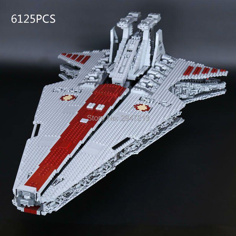 Kompatibel LegoINGlys Star Wars serie Bausteine UCS Republic Cruiser MOC Modell lepra zahlen ziegel spielzeug für Kinder