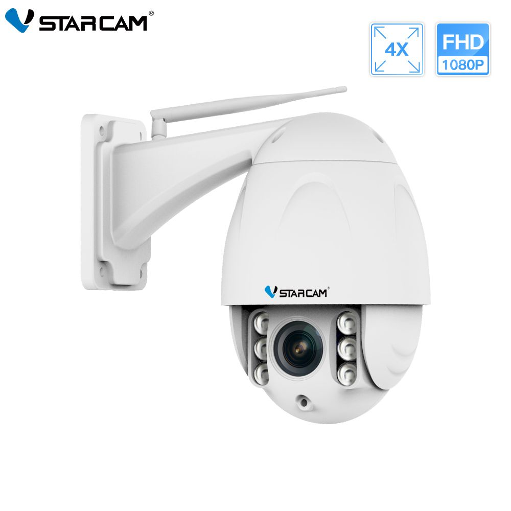 VStarcam Wireless PTZ Dome IP Kamera Outdoor 1080 p FHD 4X Zoom CCTV Sicherheit Video Netzwerk Überwachung Sicherheit IP Kamera wifi