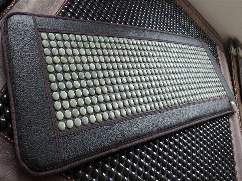 Far infrared electric heating household health care massage mattress jade sofa cushion ms tomalin germanium stone massager