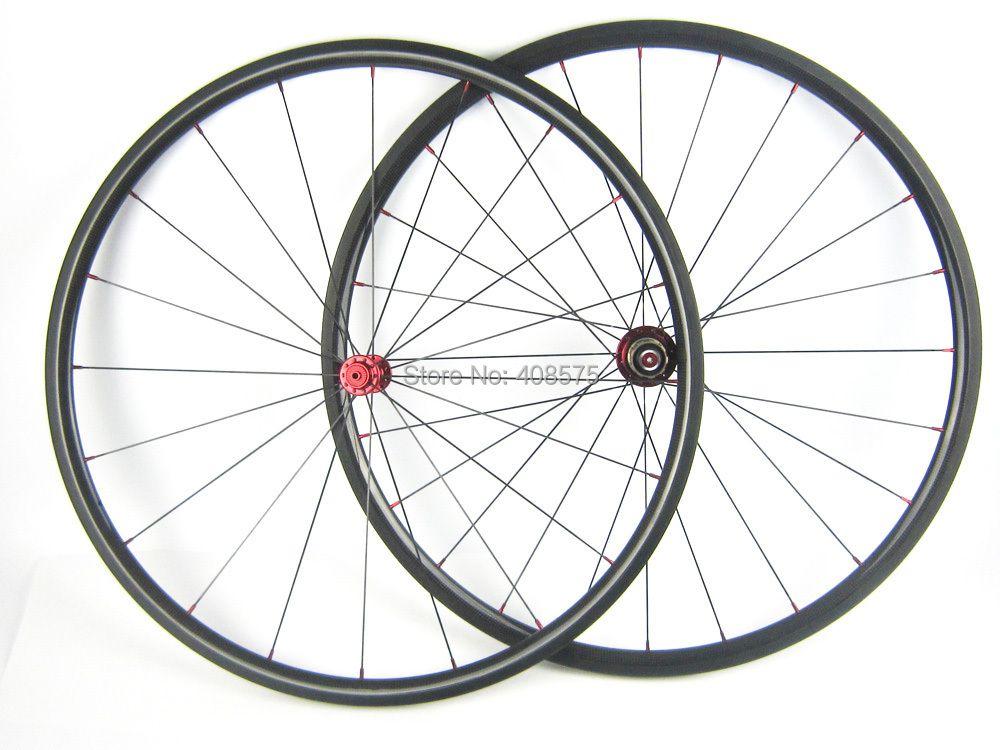ultra light weight 1045g/1145g carbon fiber wheel 20mm tubular 700C 23mm width high quality wheel