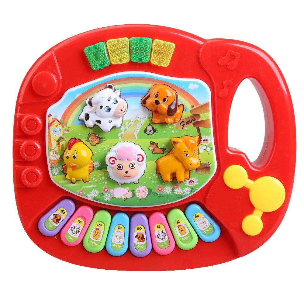 Baby Kids Musical Educational Piano Animal Farm Developmental Music Toy educational KIDS toy