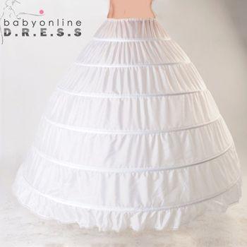 Dentelle Bord 6 Hoop Jupon Jupon Pour robe de Bal Robe De Mariage 110 cm Diamètre Sous-Vêtements Crinoline Accessoires De Mariage